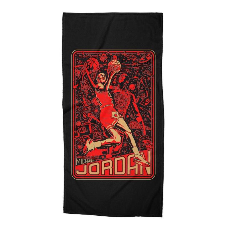 MJ Accessories Beach Towel by redleggerstudio's Shop