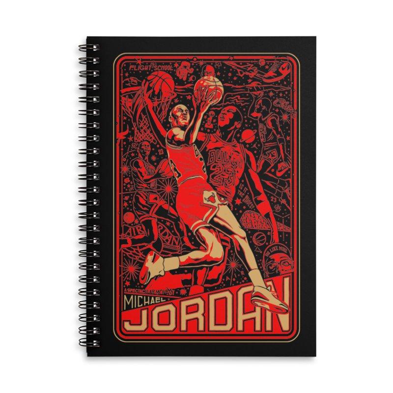 MJ Accessories Notebook by redleggerstudio's Shop