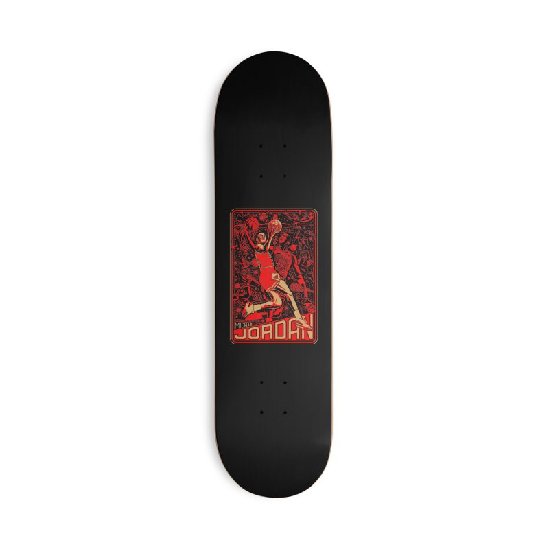 MJ Accessories Skateboard by redleggerstudio's Shop