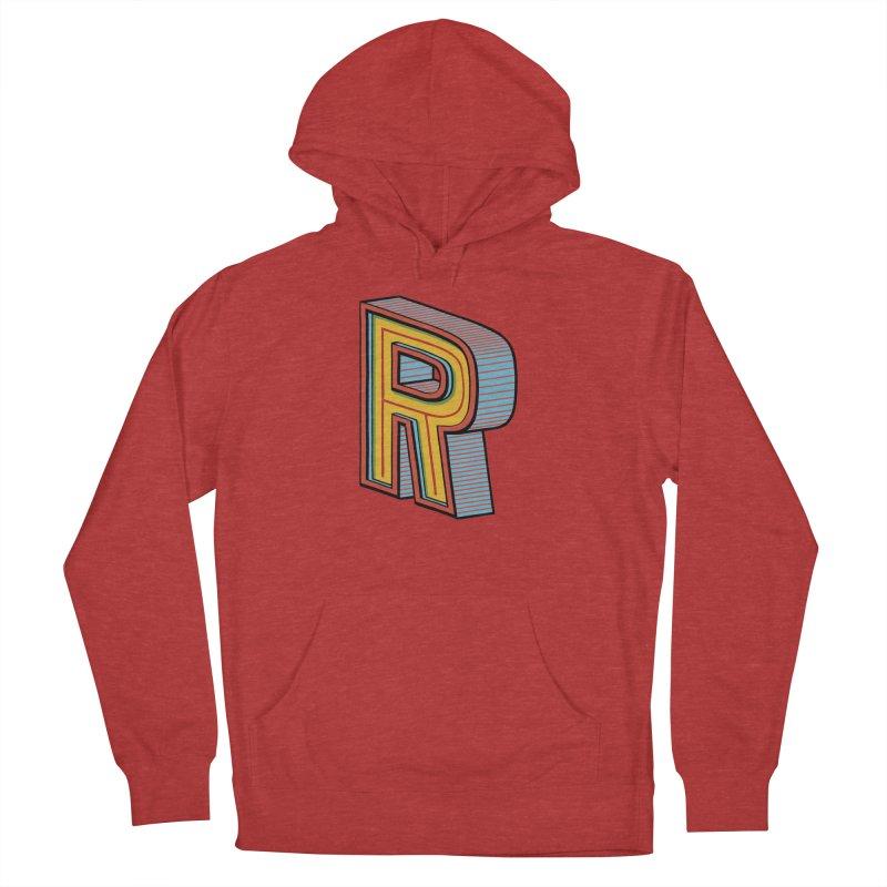 Sponsored by the Letter R Women's Pullover Hoody by redleggerstudio's Shop