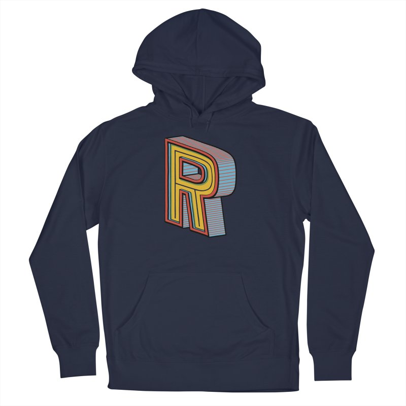 Sponsored by the Letter R Men's Pullover Hoody by redleggerstudio's Shop