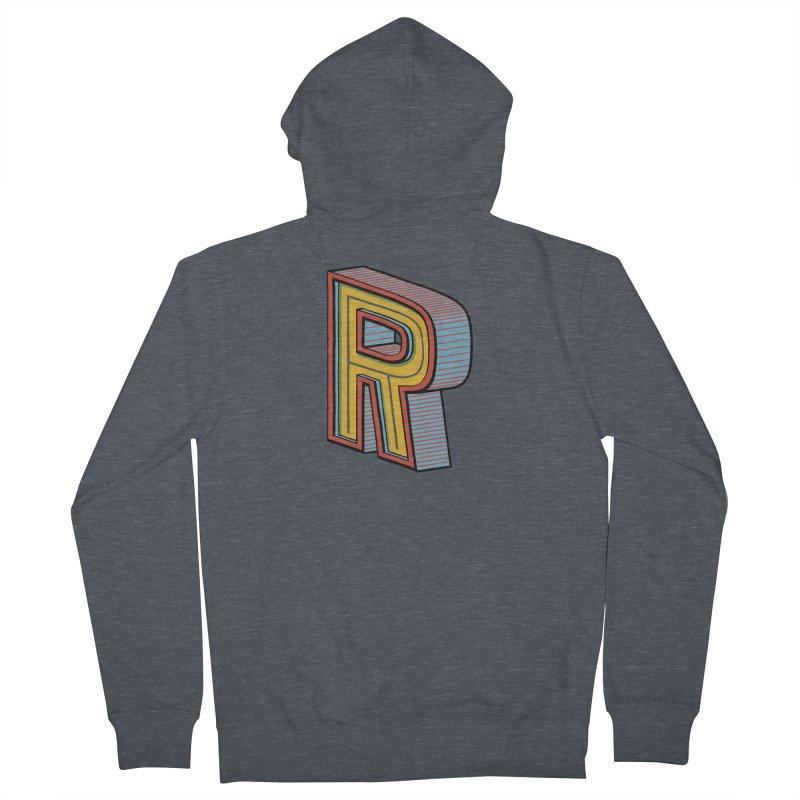Sponsored by the Letter R Women's Zip-Up Hoody by redleggerstudio's Shop