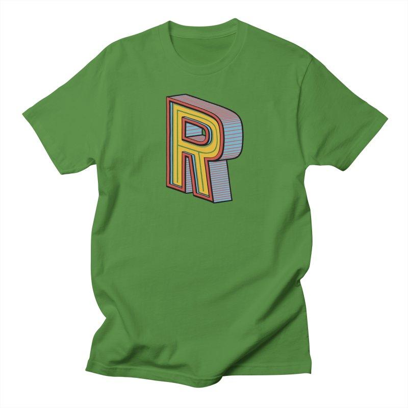 Sponsored by the Letter R Women's Unisex T-Shirt by redleggerstudio's Shop
