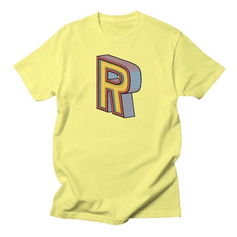 Sponsored by the Letter R Men's T-shirt by redleggerstudio's Shop