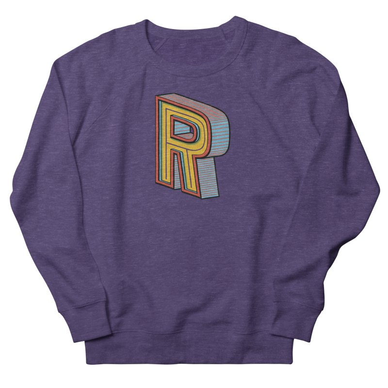 Sponsored by the Letter R Men's Sweatshirt by redleggerstudio's Shop