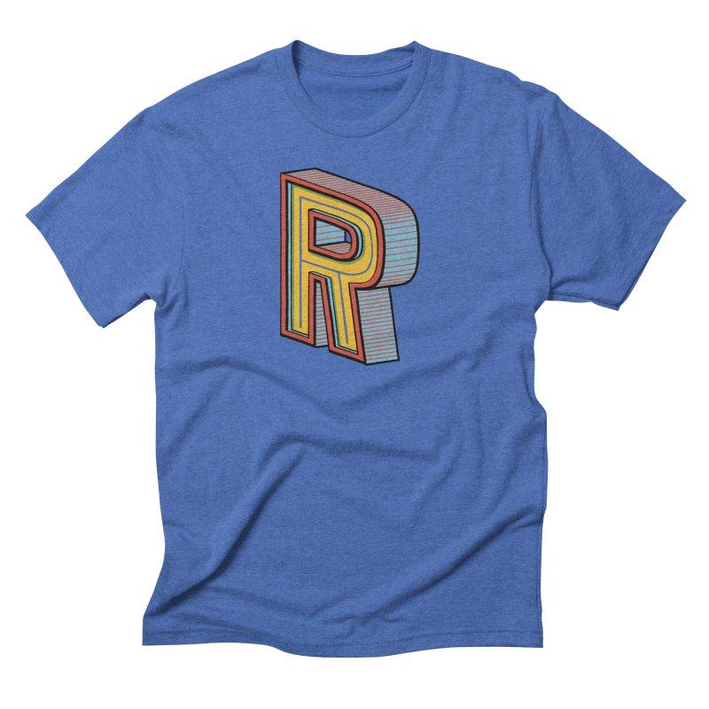 Sponsored by the Letter R Men's Triblend T-shirt by redleggerstudio's Shop