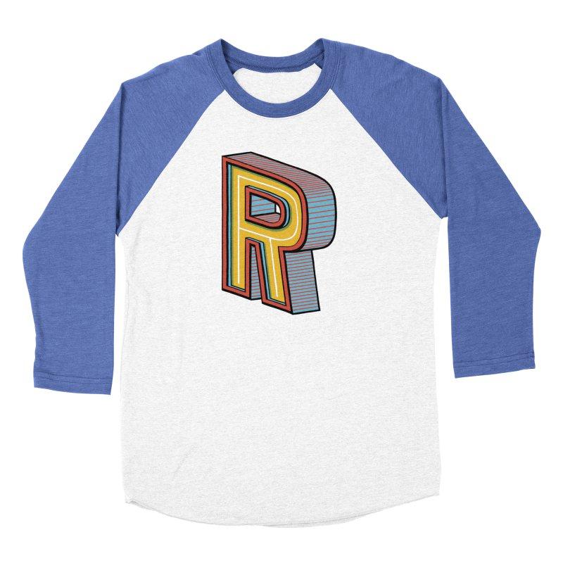 Sponsored by the Letter R Women's Baseball Triblend T-Shirt by redleggerstudio's Shop