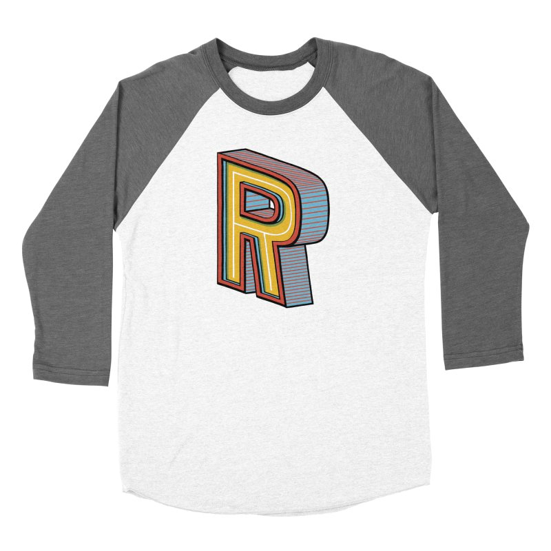 Sponsored by the Letter R Men's Baseball Triblend T-Shirt by redleggerstudio's Shop