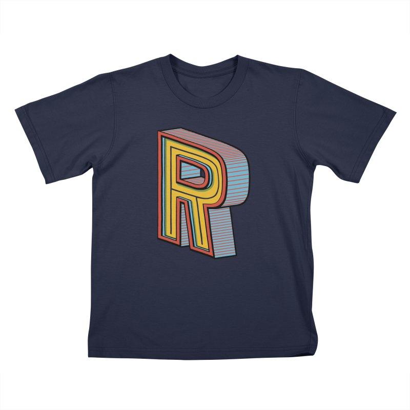 Sponsored by the Letter R Kids Toddler T-Shirt by redleggerstudio's Shop