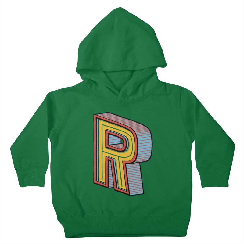 Sponsored by the Letter R Kids Toddler Pullover Hoody by redleggerstudio's Shop