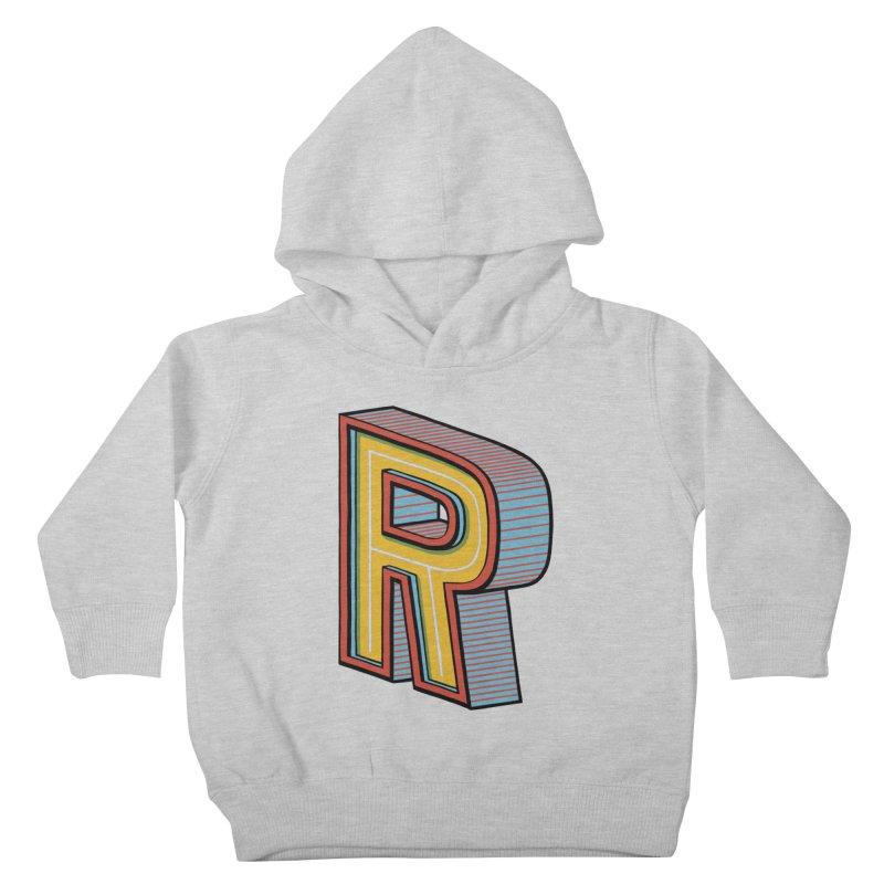Sponsored by the Letter R Kids Toddler Pullover Hoody by redleggerstudio's Shop