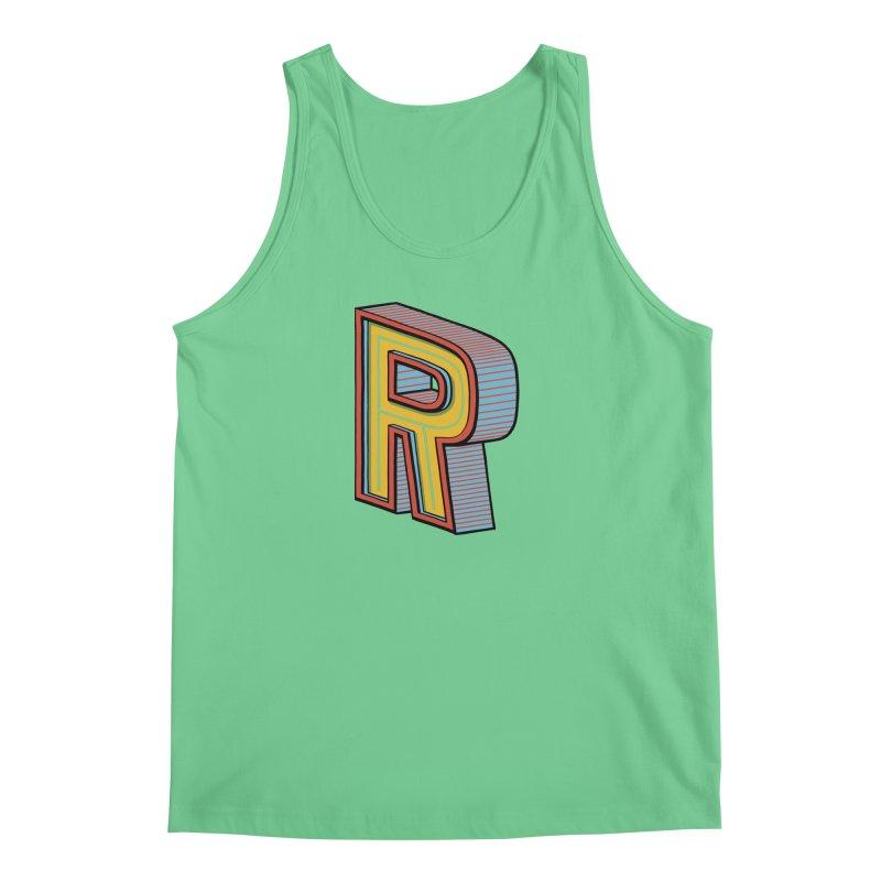 Sponsored by the Letter R Men's Tank by redleggerstudio's Shop