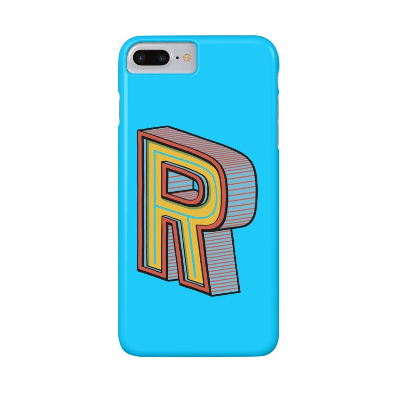 Sponsored by the Letter R Accessories Phone Case by redleggerstudio's Shop