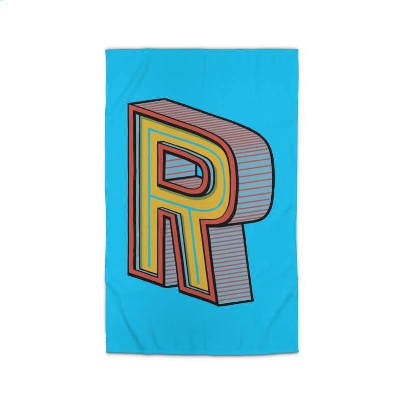 Sponsored by the Letter R Home Rug by redleggerstudio's Shop