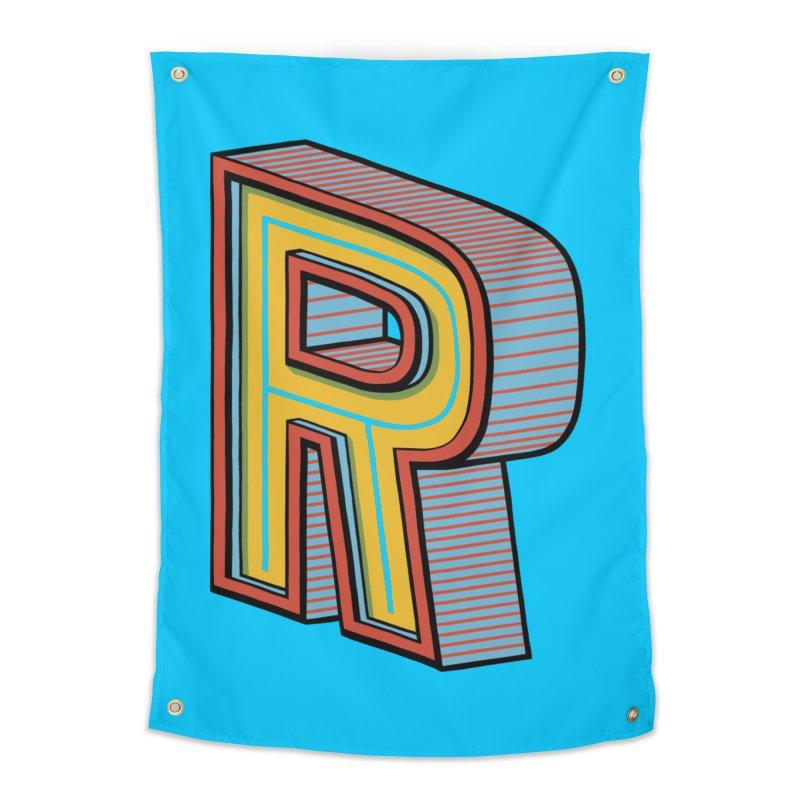 Sponsored by the Letter R Home Tapestry by redleggerstudio's Shop