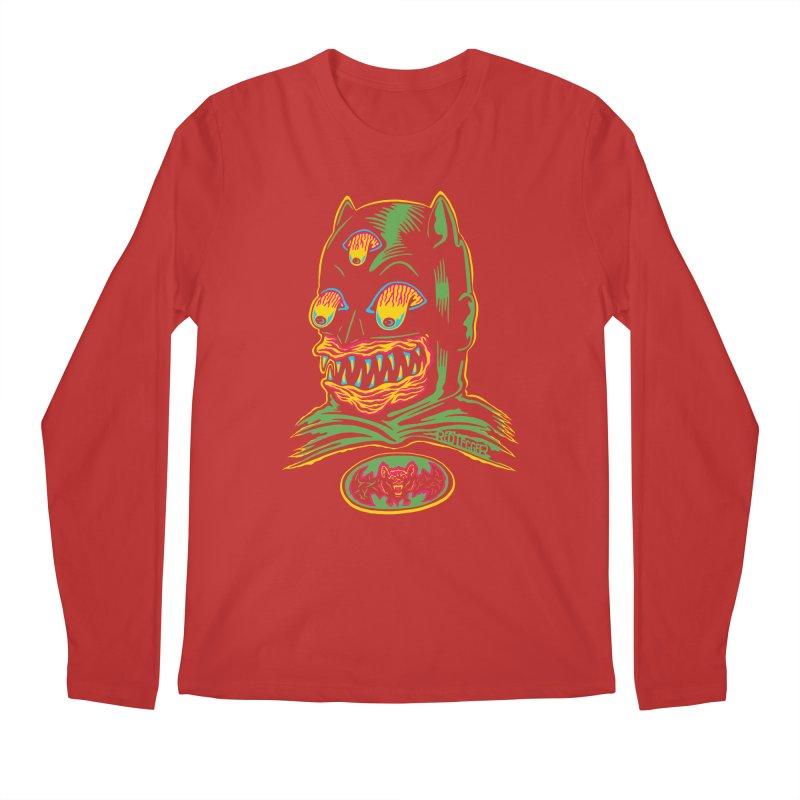 Bat-Fink Men's Longsleeve T-Shirt by redleggerstudio's Shop