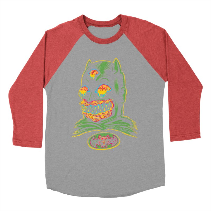 Bat-Fink Women's Baseball Triblend T-Shirt by redleggerstudio's Shop