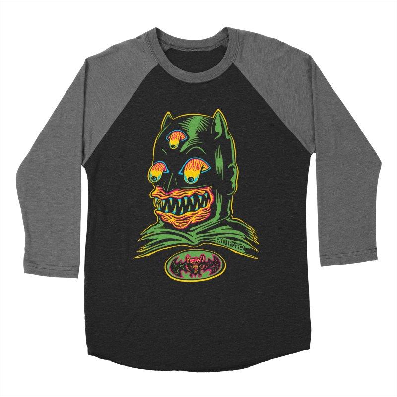 Bat-Fink Men's Baseball Triblend T-Shirt by redleggerstudio's Shop