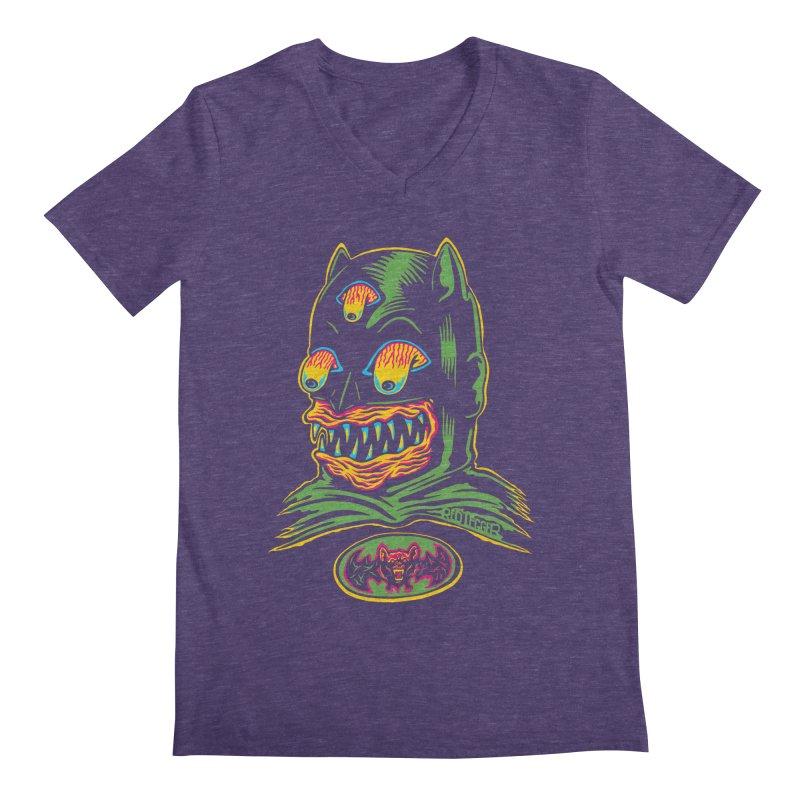 Bat-Fink Men's V-Neck by redleggerstudio's Shop