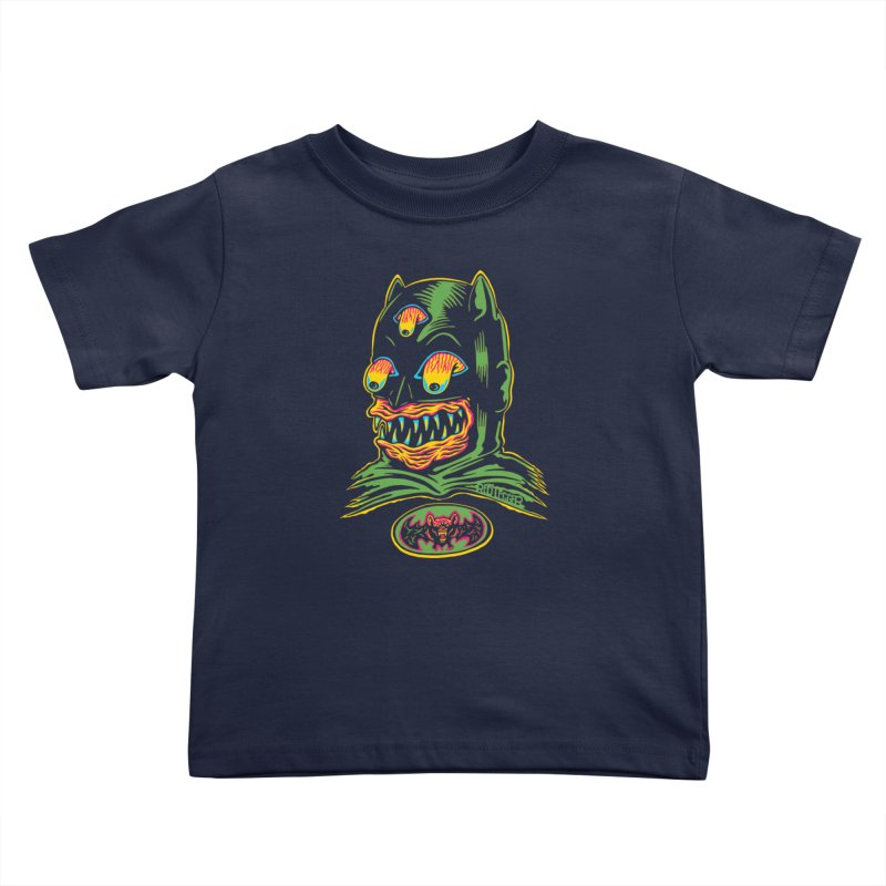Bat-Fink Kids Toddler T-Shirt by redleggerstudio's Shop