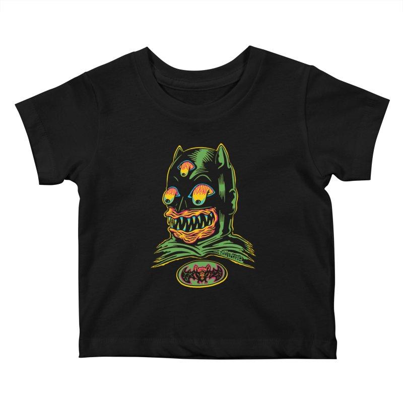 Bat-Fink Kids Baby T-Shirt by redleggerstudio's Shop