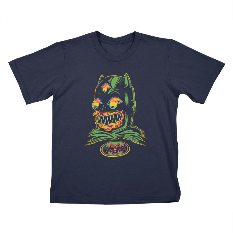 Bat-Fink Kids Toddler T-Shirt by redleggerstudio's Shop