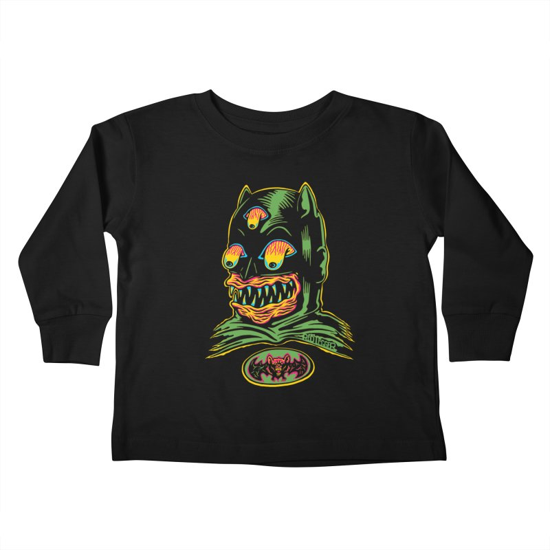 Bat-Fink Kids Toddler Longsleeve T-Shirt by redleggerstudio's Shop