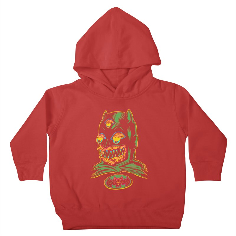 Bat-Fink Kids Toddler Pullover Hoody by redleggerstudio's Shop