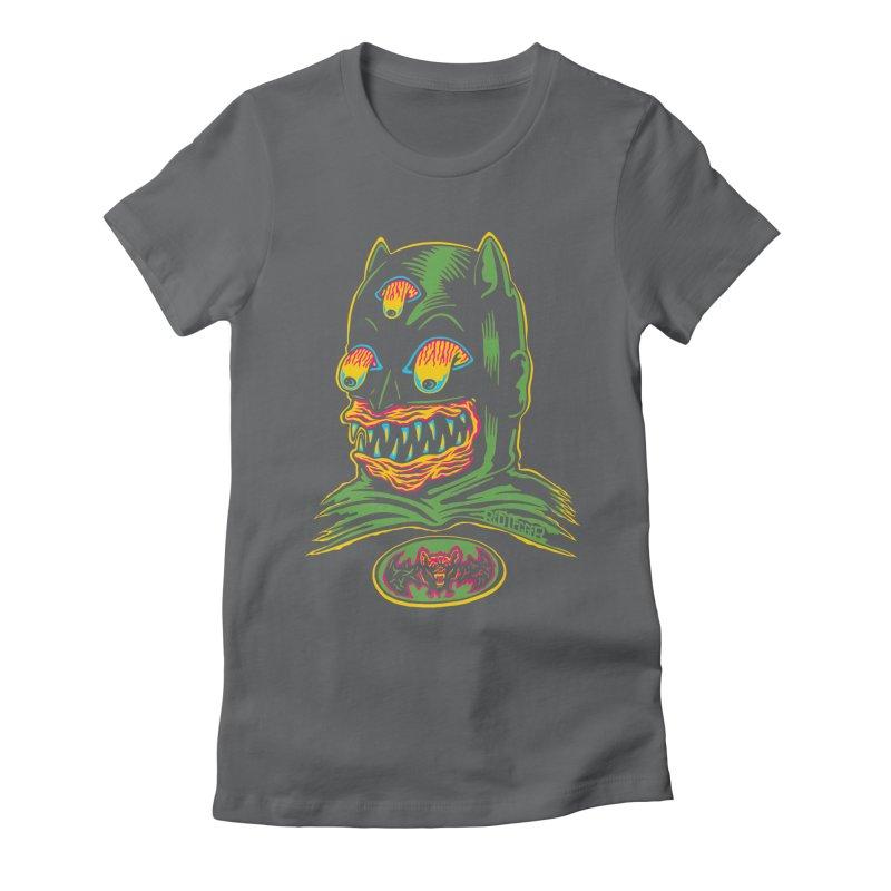 Bat-Fink Women's Fitted T-Shirt by redleggerstudio's Shop