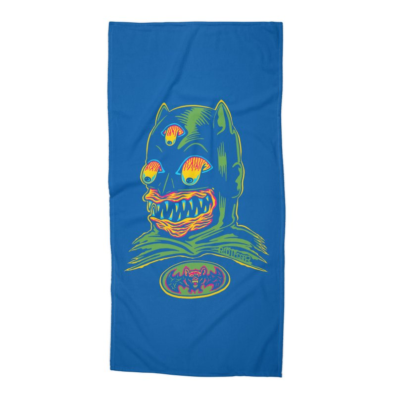Bat-Fink Accessories Beach Towel by redleggerstudio's Shop