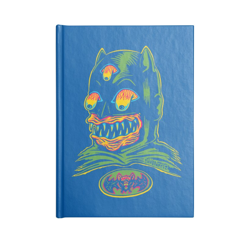 Bat-Fink Accessories Notebook by redleggerstudio's Shop