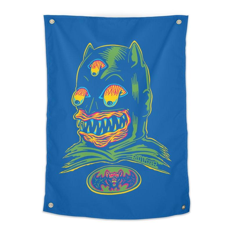 Bat-Fink Home Tapestry by redleggerstudio's Shop