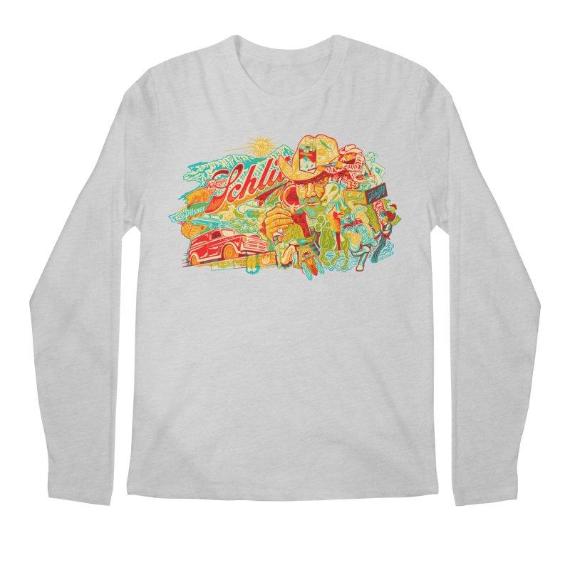 I Wanna Be a Cowboy, Baby Men's Longsleeve T-Shirt by redleggerstudio's Shop