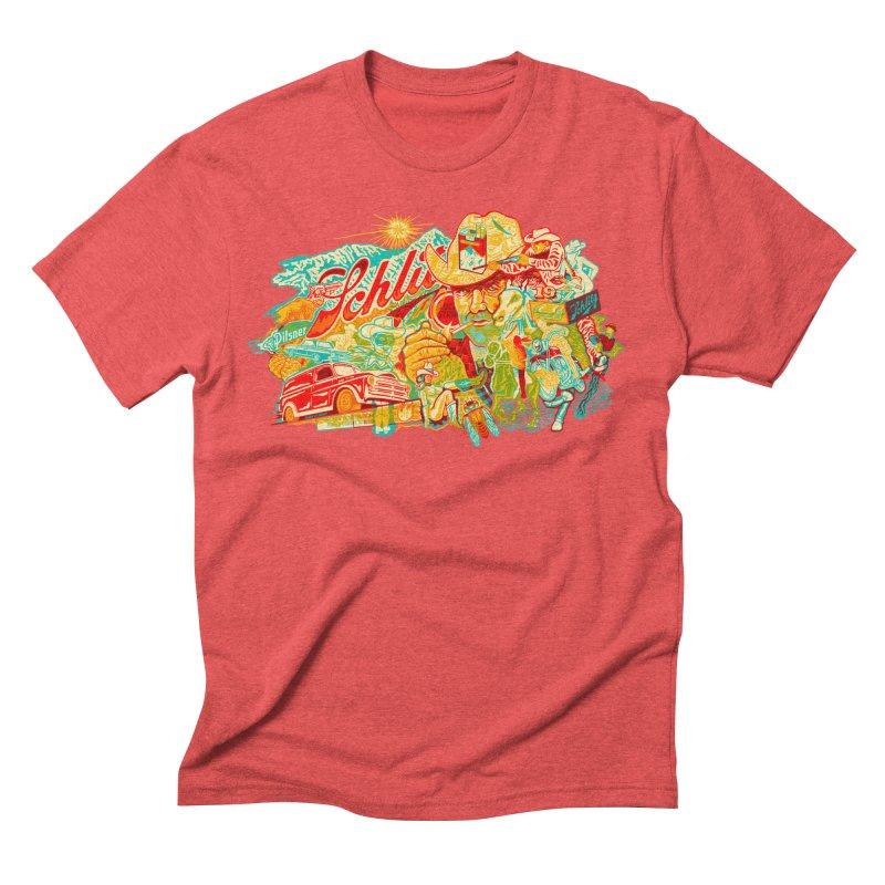 I Wanna Be a Cowboy, Baby Men's Triblend T-shirt by redleggerstudio's Shop