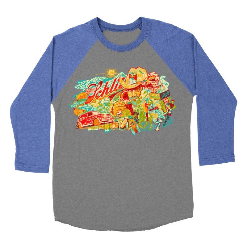 I Wanna Be a Cowboy, Baby Women's Baseball Triblend T-Shirt by redleggerstudio's Shop