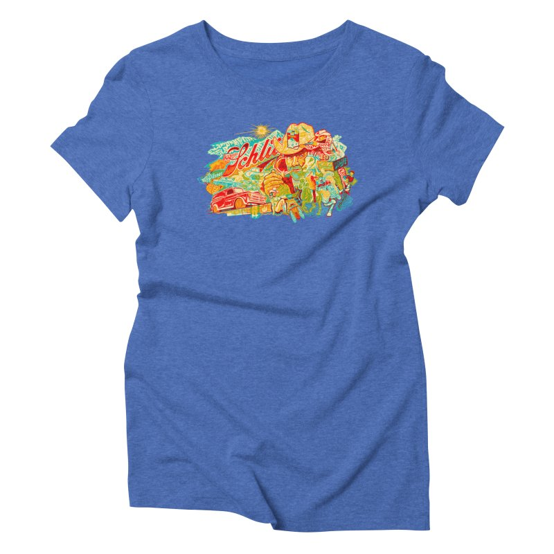 I Wanna Be a Cowboy, Baby Women's Triblend T-shirt by redleggerstudio's Shop