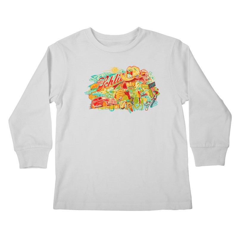 I Wanna Be a Cowboy, Baby Kids Longsleeve T-Shirt by redleggerstudio's Shop