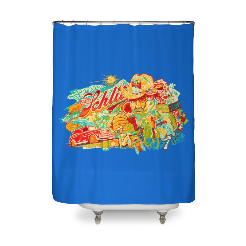 I Wanna Be a Cowboy, Baby Home Shower Curtain by redleggerstudio's Shop