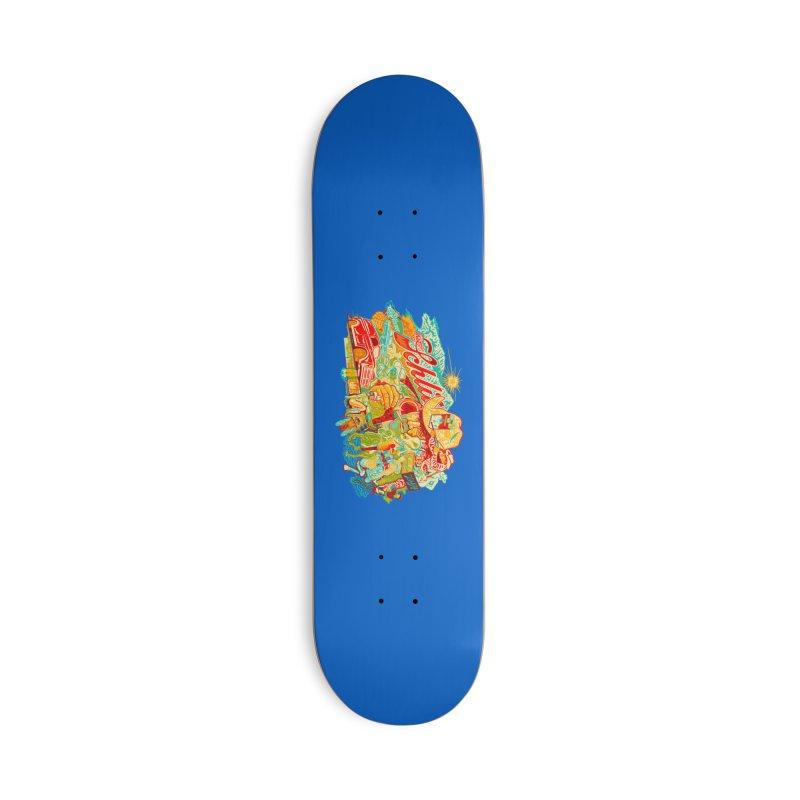 I Wanna Be a Cowboy, Baby Accessories Skateboard by redleggerstudio's Shop