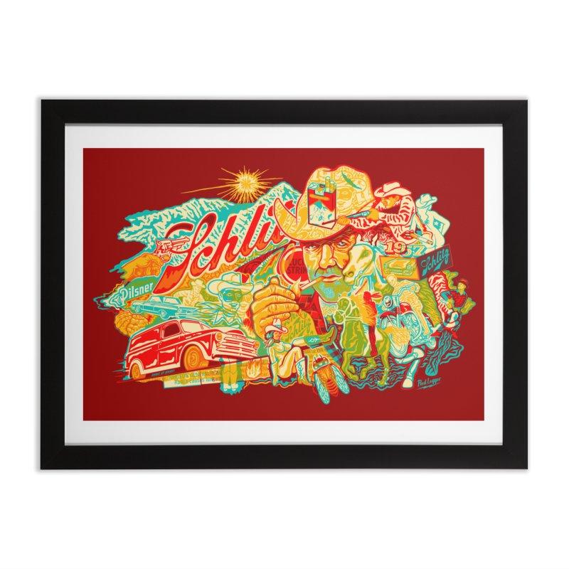 I Wanna Be a Cowboy, Baby Home Framed Fine Art Print by redleggerstudio's Shop