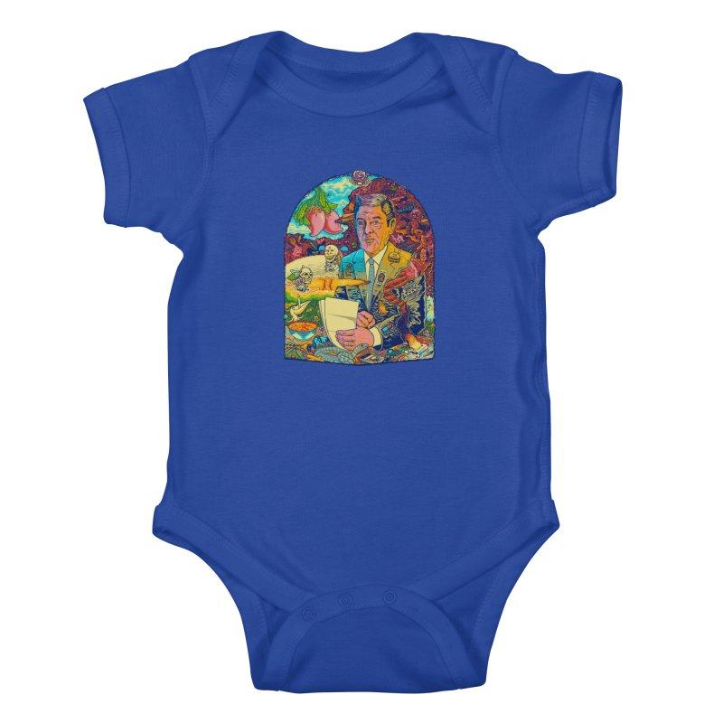 Constant Stimulation is Required. Kids Baby Bodysuit by redleggerstudio's Shop