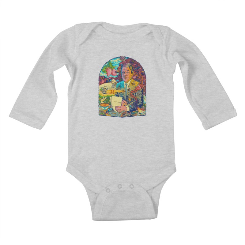 Constant Stimulation is Required. Kids Baby Longsleeve Bodysuit by redleggerstudio's Shop