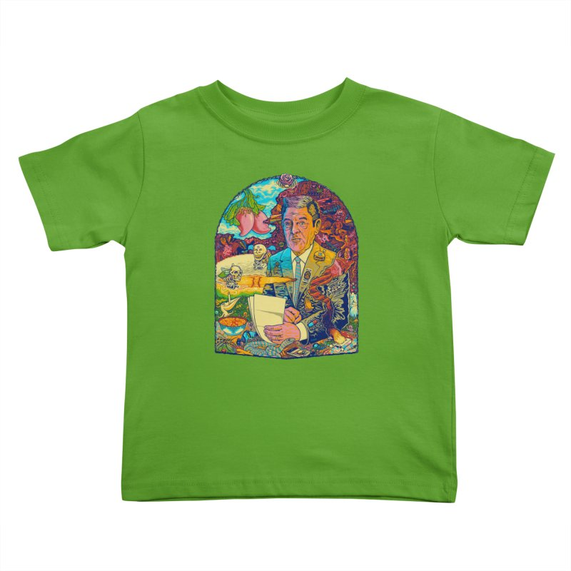 Constant Stimulation is Required. Kids Toddler T-Shirt by redleggerstudio's Shop