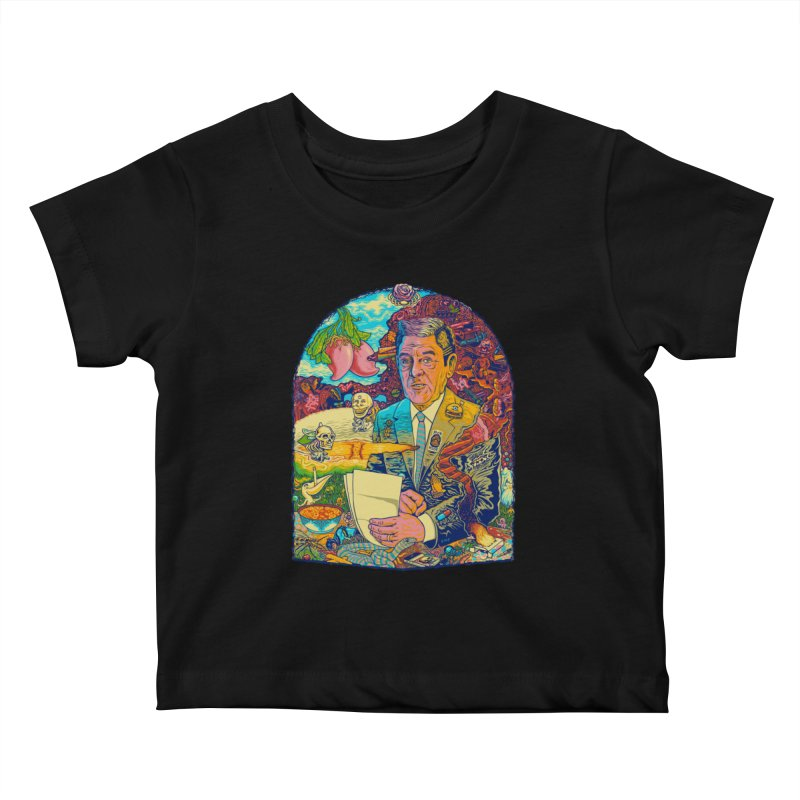 Constant Stimulation is Required. Kids Baby T-Shirt by redleggerstudio's Shop