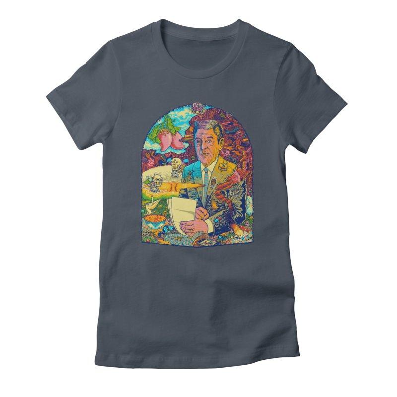 Constant Stimulation is Required. Women's T-Shirt by redleggerstudio's Shop