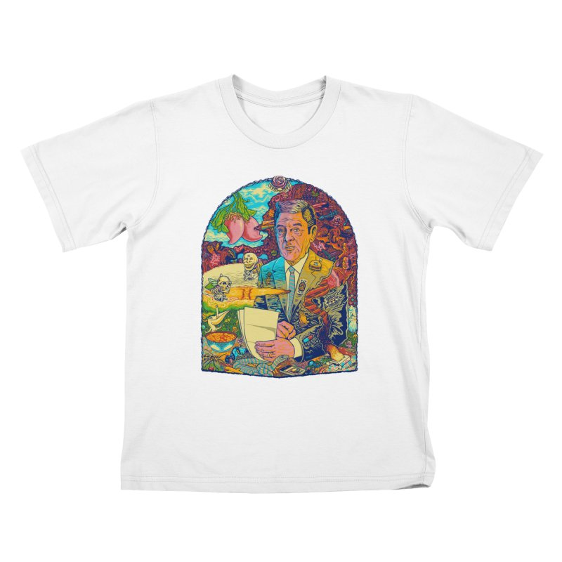 Constant Stimulation is Required. Kids T-Shirt by redleggerstudio's Shop