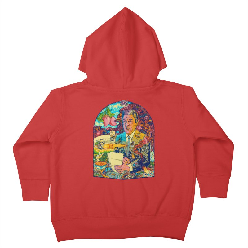 Constant Stimulation is Required. Kids Toddler Zip-Up Hoody by redleggerstudio's Shop