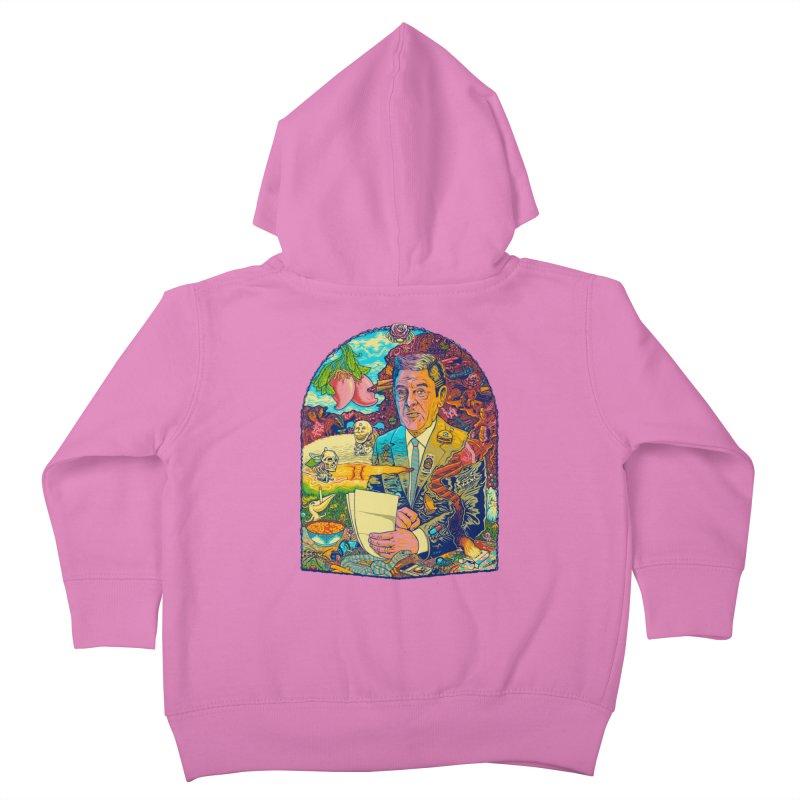 Constant Stimulation is Required. Kids Toddler Zip-Up Hoody by redleggerstudio's Shop