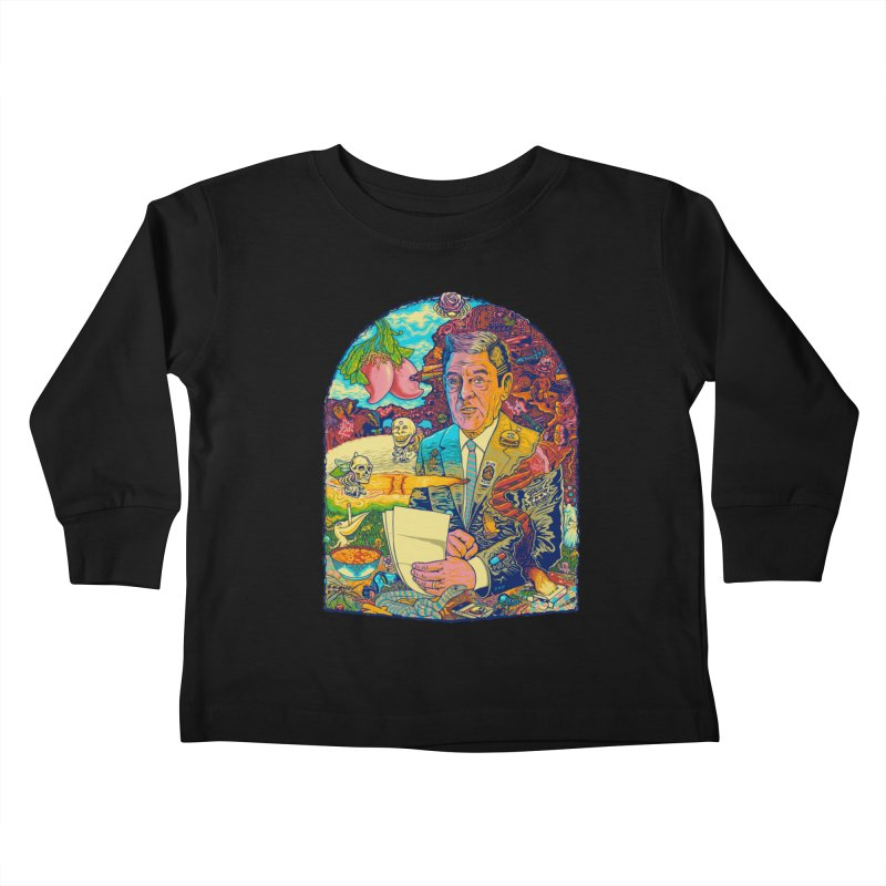 Constant Stimulation is Required. Kids Toddler Longsleeve T-Shirt by redleggerstudio's Shop