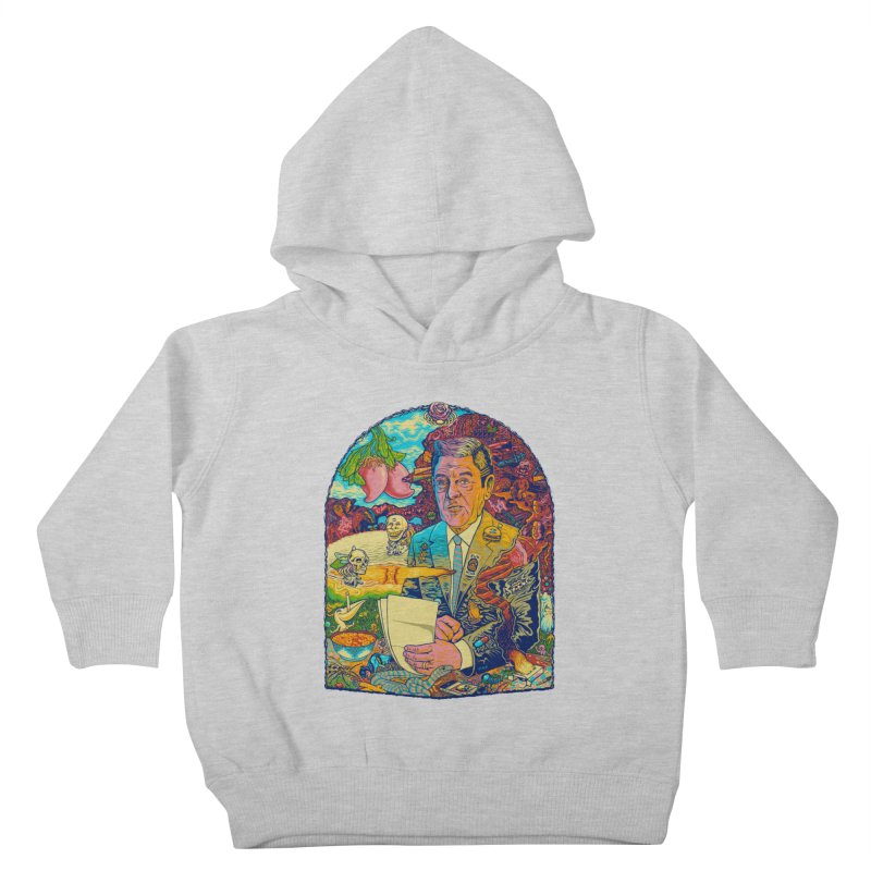 Constant Stimulation is Required. Kids Toddler Pullover Hoody by redleggerstudio's Shop
